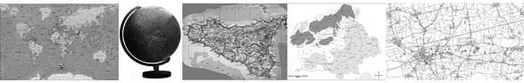 esempi di tipologie di proiezioni cartografiche