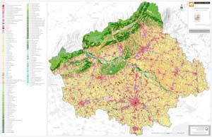 Carta di copertura del suolo della provincia di Treviso