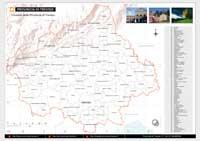 cartina geografica dei confini amministrativi comunali