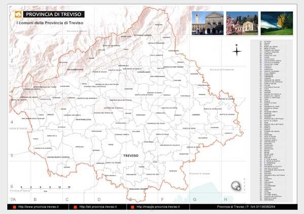 I Comuni della Provincia di Treviso