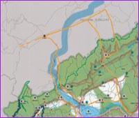 Guarda la porzione Nord Ovest della mappa