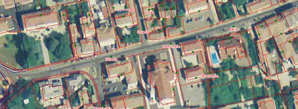 Esempio Cartografia in Gauss Boaga Fuso Ovest Comune di Altivole
