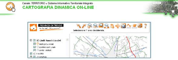 cartografia dinamica on-line - immagine di Dennis Coleman